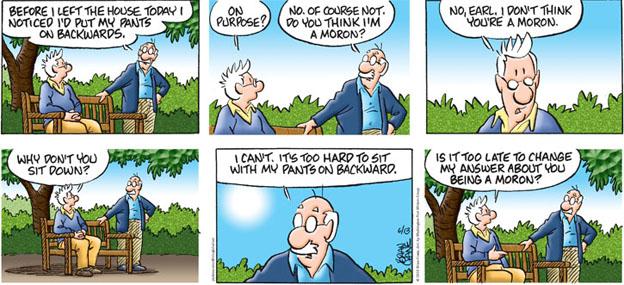 Comic Strip Brian Crane  Pickles 2010-06-13 purpose
