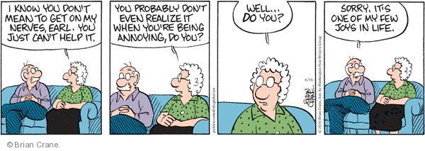 Comic Strip Brian Crane  Pickles 2010-06-16 husband