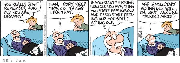 Comic Strip Brian Crane  Pickles 2010-06-19 grandpa