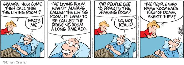 Comic Strip Brian Crane  Pickles 2010-07-06 grandpa