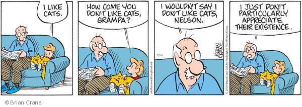 Comic Strip Brian Crane  Pickles 2010-07-10 grandpa