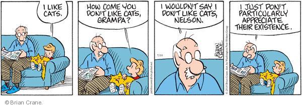 Comic Strip Brian Crane  Pickles 2010-07-10 existence