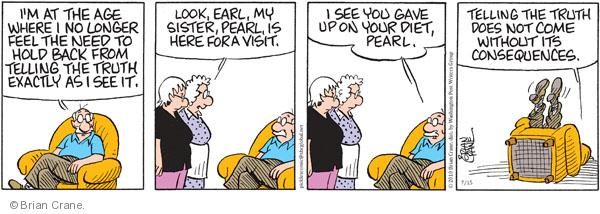 Comic Strip Brian Crane  Pickles 2010-07-15 over