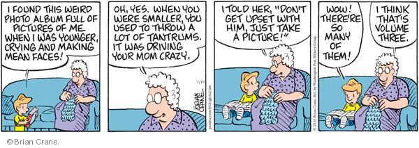 Comic Strip Brian Crane  Pickles 2010-07-19 driving crazy