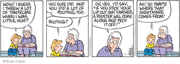 Comic Strip Brian Crane  Pickles 2010-07-21 bad dream