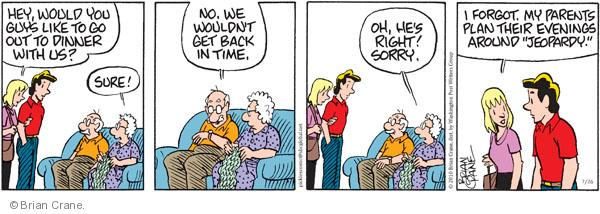 Comic Strip Brian Crane  Pickles 2010-07-26 guy
