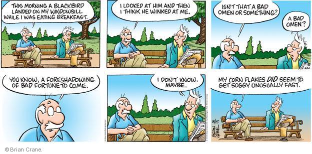 Comic Strip Brian Crane  Pickles 2010-08-15 unusual