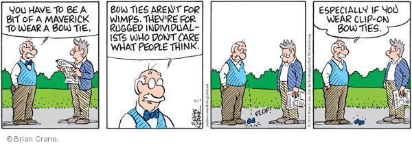 Comic Strip Brian Crane  Pickles 2010-08-17 tie
