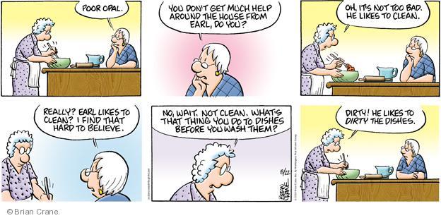 Comic Strip Brian Crane  Pickles 2010-08-22 senior citizen