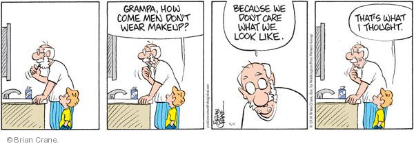 Comic Strip Brian Crane  Pickles 2010-09-04 grandpa
