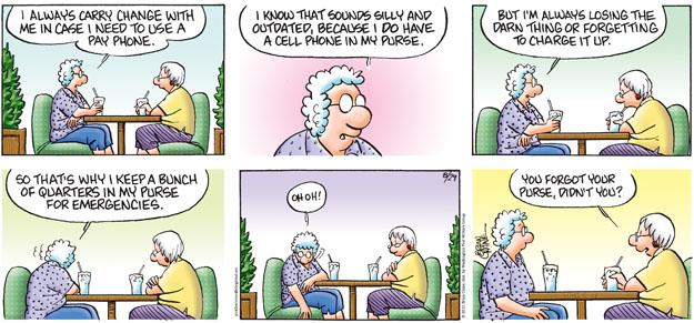 Comic Strip Brian Crane  Pickles 2010-08-29 smartphone