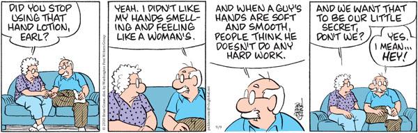Comic Strip Brian Crane  Pickles 2010-09-09 guy
