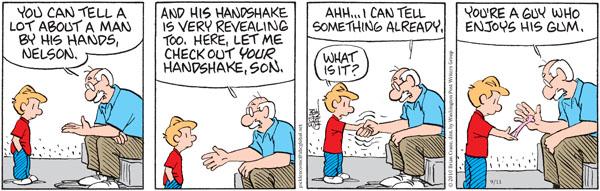 Comic Strip Brian Crane  Pickles 2010-09-11 guy