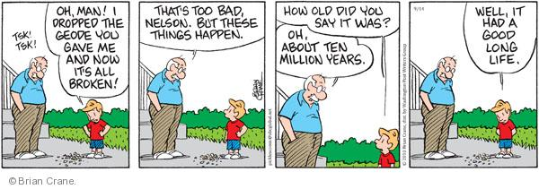 Comic Strip Brian Crane  Pickles 2010-09-14 million