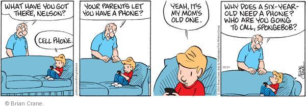 Comic Strip Brian Crane  Pickles 2010-10-11 mom
