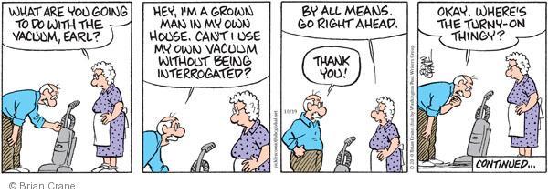 Comic Strip Brian Crane  Pickles 2010-10-19 husband