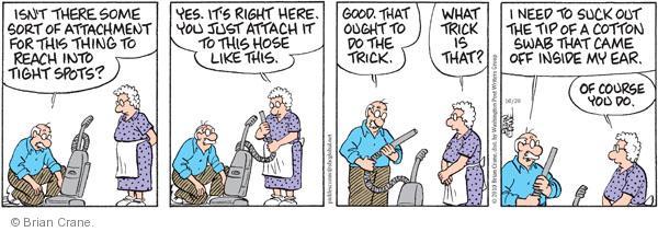 Comic Strip Brian Crane  Pickles 2010-10-20 reach