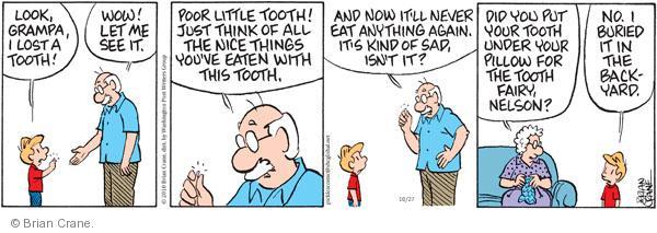 Comic Strip Brian Crane  Pickles 2010-10-27 lose