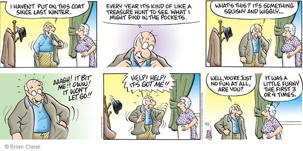 Comic Strip Brian Crane  Pickles 2010-11-07 winter