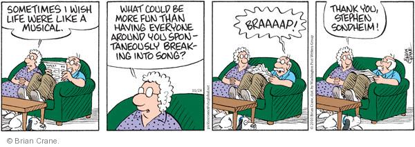Cartoonist Brian Crane  Pickles 2010-11-24 enjoy