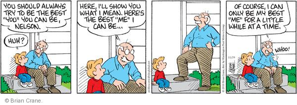 Comic Strip Brian Crane  Pickles 2010-11-29 grandpa