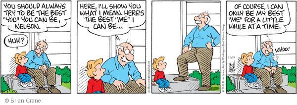 Comic Strip Brian Crane  Pickles 2010-11-29 advice