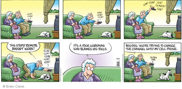 Comic Strip Brian Crane  Pickles 2010-12-05 husband