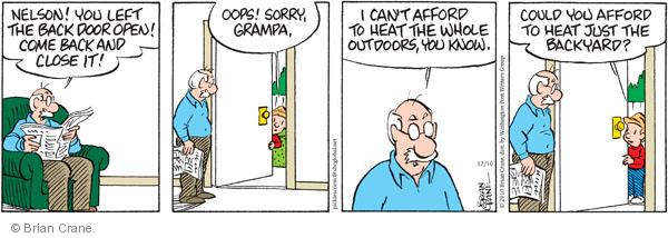 Comic Strip Brian Crane  Pickles 2010-12-10 afford