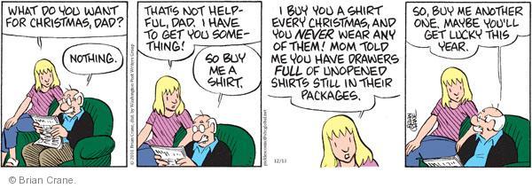 Comic Strip Brian Crane  Pickles 2010-12-13 helpful