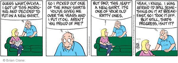Comic Strip Brian Crane  Pickles 2010-12-16 ratty