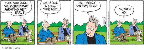 Comic Strip Brian Crane  Pickles 2010-12-20 late