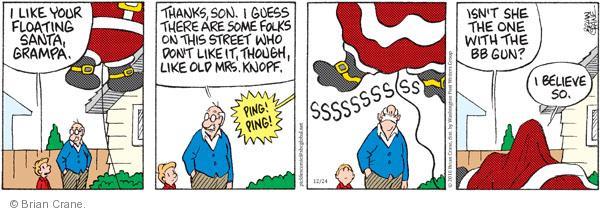 Comic Strip Brian Crane  Pickles 2010-12-24 Santa Claus