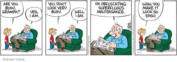 Comic Strip Brian Crane  Pickles 2010-12-27 useless