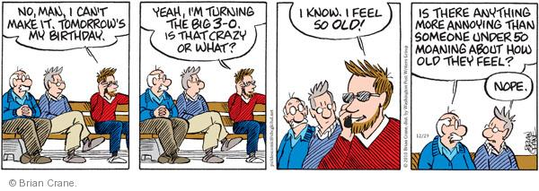 Comic Strip Brian Crane  Pickles 2010-12-29 crazy