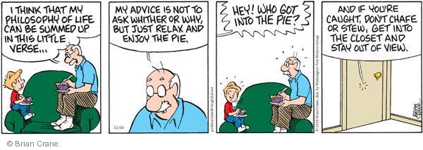 Comic Strip Brian Crane  Pickles 2010-12-30 belief