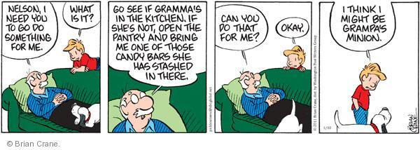 Comic Strip Brian Crane  Pickles 2011-01-10 grandchild