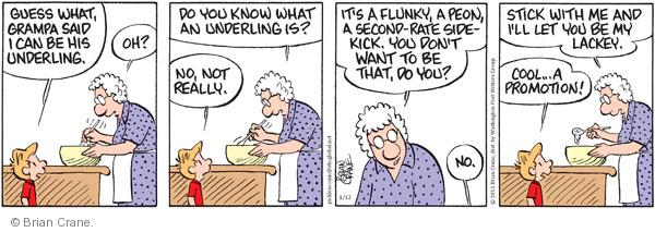 Comic Strip Brian Crane  Pickles 2011-01-12 grandmother