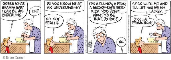 Comic Strip Brian Crane  Pickles 2011-01-12 grandchild