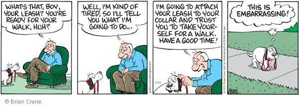 Comic Strip Brian Crane  Pickles 2011-01-13 trust