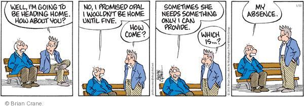 Comic Strip Brian Crane  Pickles 2011-01-22 promise