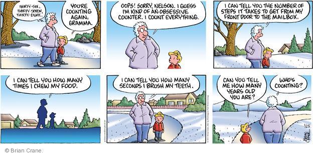 Comic Strip Brian Crane  Pickles 2011-01-23 number