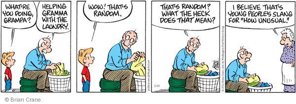 Comic Strip Brian Crane  Pickles 2011-01-24 grandmother
