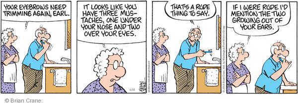 Comic Strip Brian Crane  Pickles 2011-01-25 AIDS