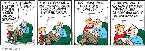 Comic Strip Brian Crane  Pickles 2011-01-26 reality