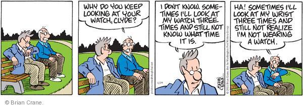 Comic Strip Brian Crane  Pickles 2011-01-29 awareness