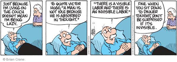 Comic Strip Brian Crane  Pickles 2011-02-02 work