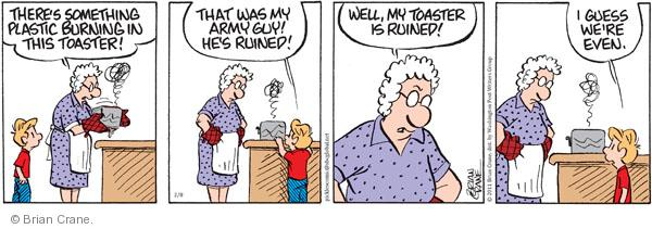 Comic Strip Brian Crane  Pickles 2011-02-08 ruin