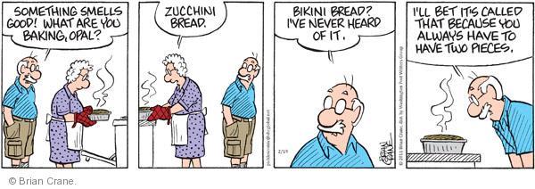 Comic Strip Brian Crane  Pickles 2011-02-19 bread