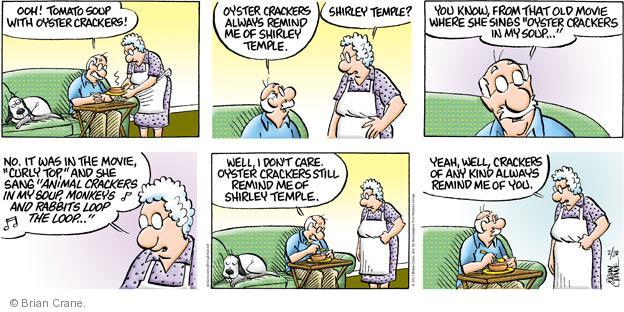 Comic Strip Brian Crane  Pickles 2011-02-20 crazy