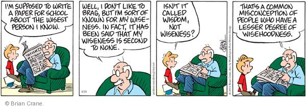 Comic Strip Brian Crane  Pickles 2011-03-23 discern
